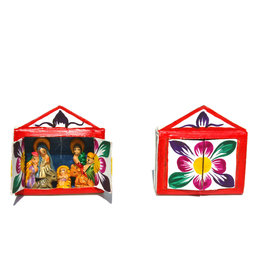 Mini nativity scene, matchbox