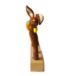 Finger puppet Easter bunny