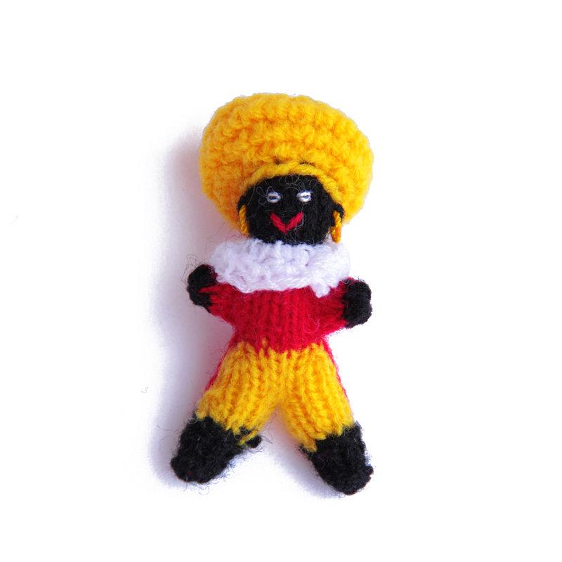 Gebreid Zwarte Pietje, klein