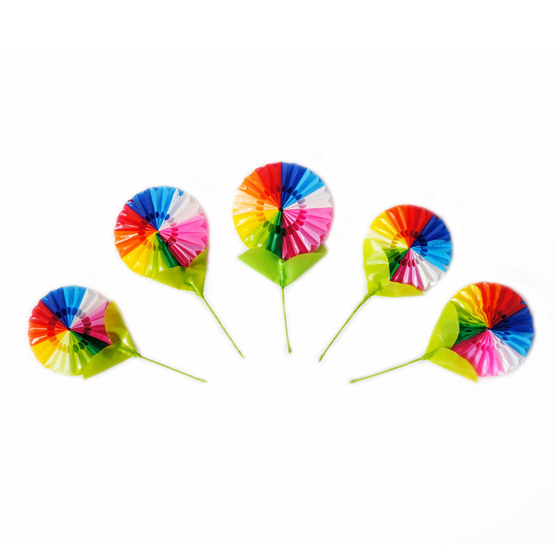 Decorative flower fan, mini