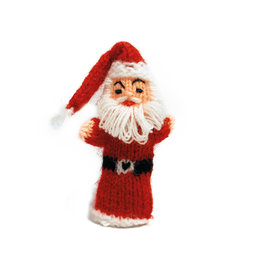 Finger puppet Santa Claus without gift