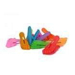 Knijper voetje, kleurassorti