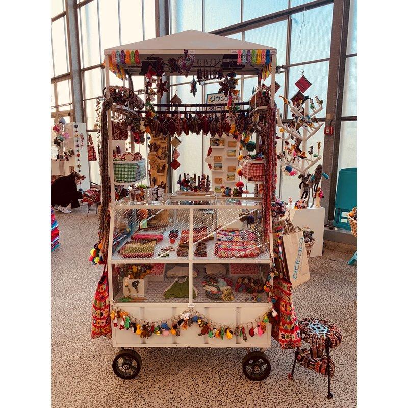 Peruvian street vendors cart, high model