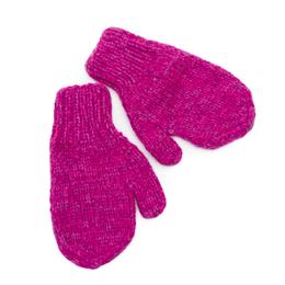 Children's mittens, alpaca