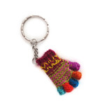 Key hanger little hand, 100% sheep's wool