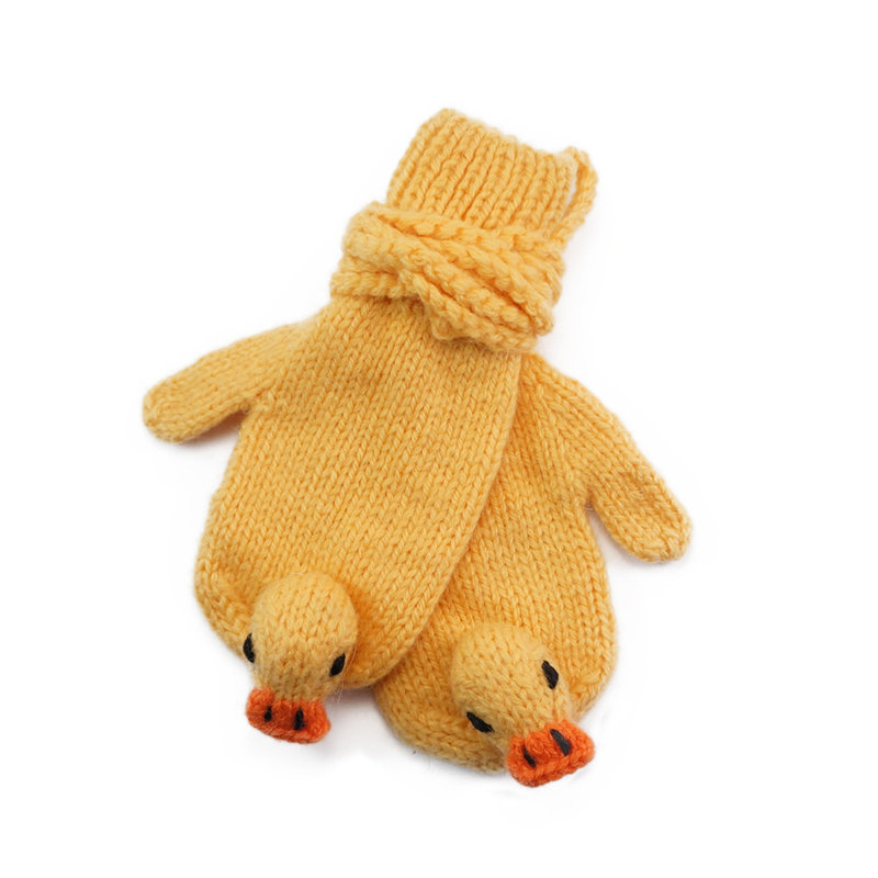 Duck mittens, assorted size