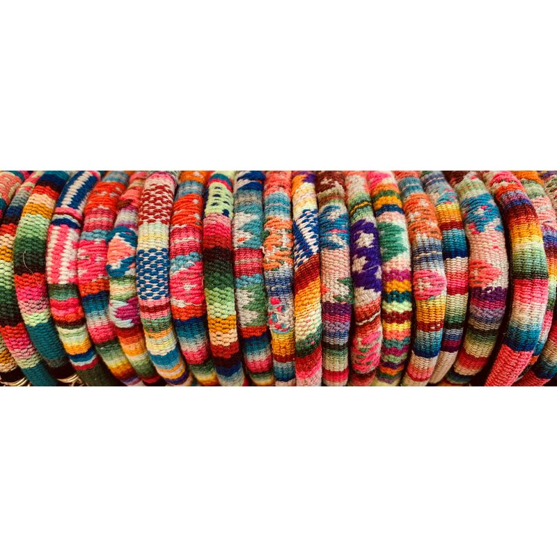 Armband Inca Indiaanse textiel, 100% wol