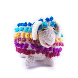 Hand knitted sheep XL, 100% sheep's wool
