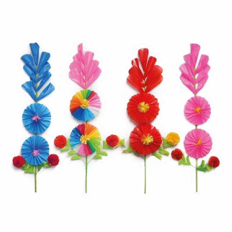 Staande bloem, plastic