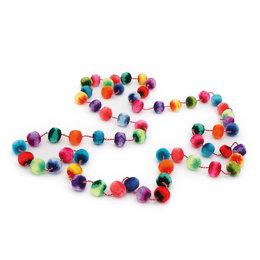 Rainbow necklace, double length