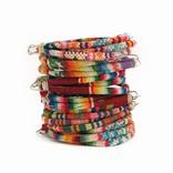 Bracelet Inca trio, Indian textile