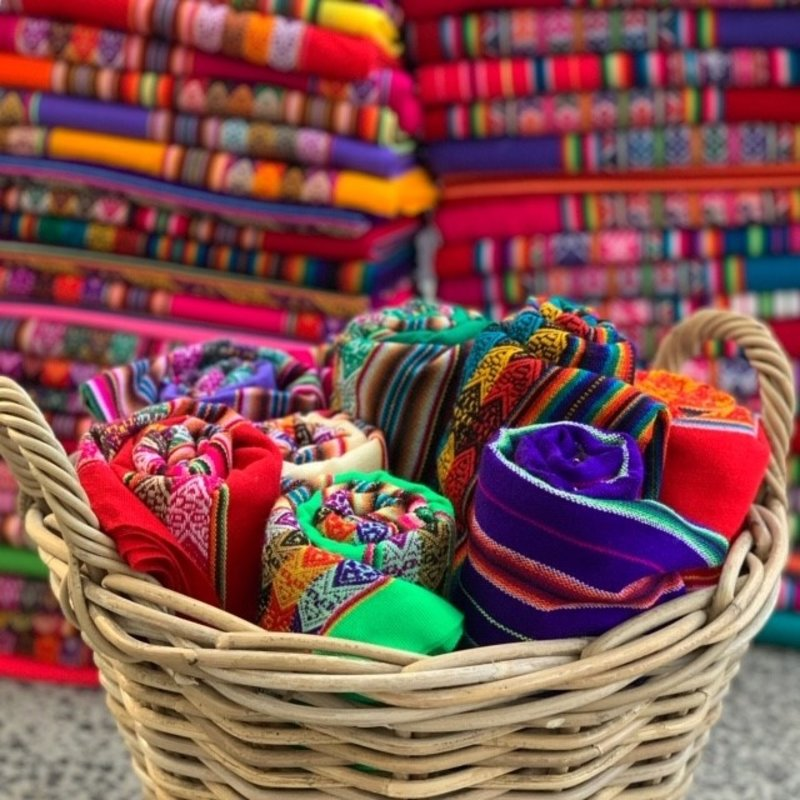 Inca-kleed, soepele kwaliteit