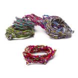 Inca-koord, alpacawol, multicolor