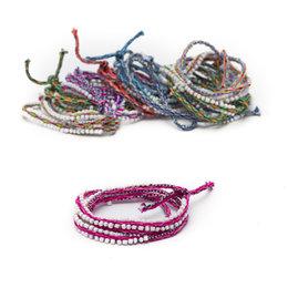 Bracelet Cuzco, beaded