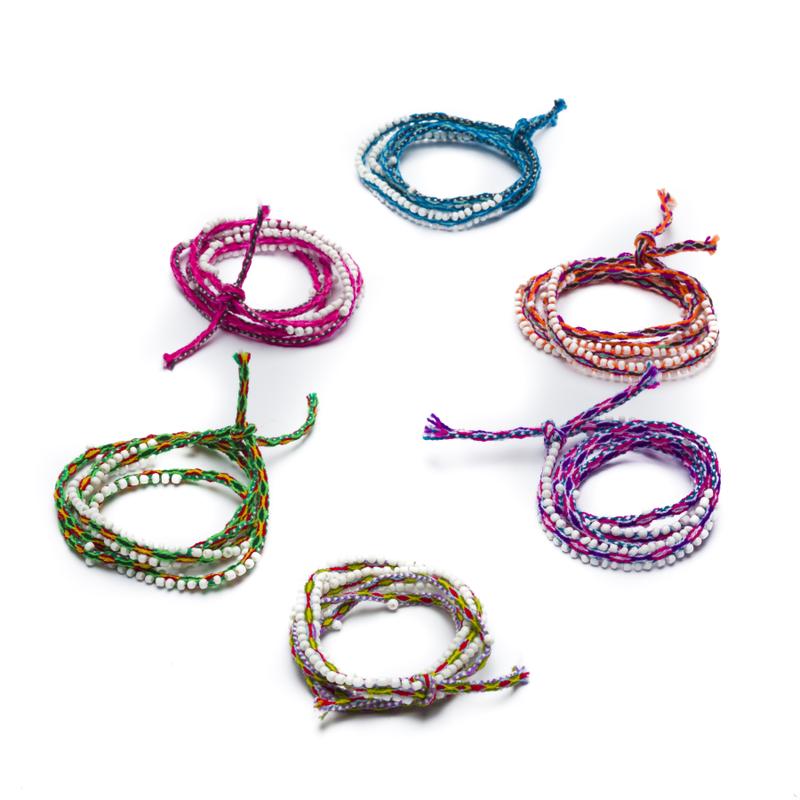 Armband Cuzco, met kraaltjes