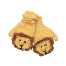 Lion mittens, assorted sizes