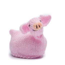 Egg-cosy pig