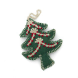 Christmas hanger tree, decoration red-white