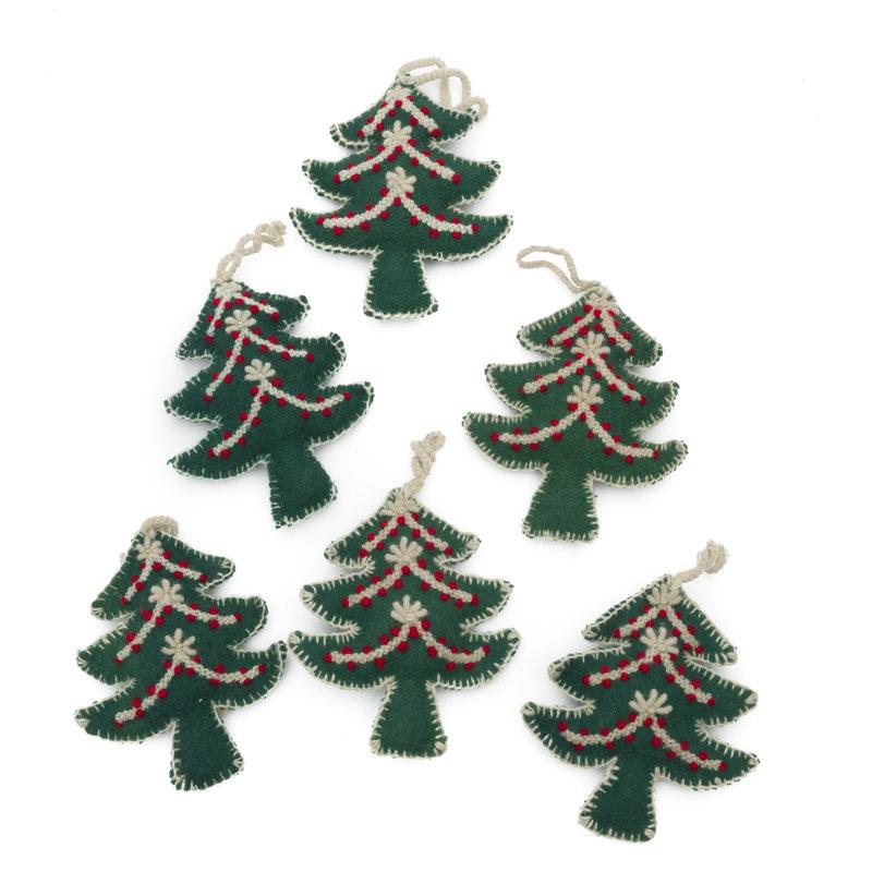 Kersthanger boom, met deco