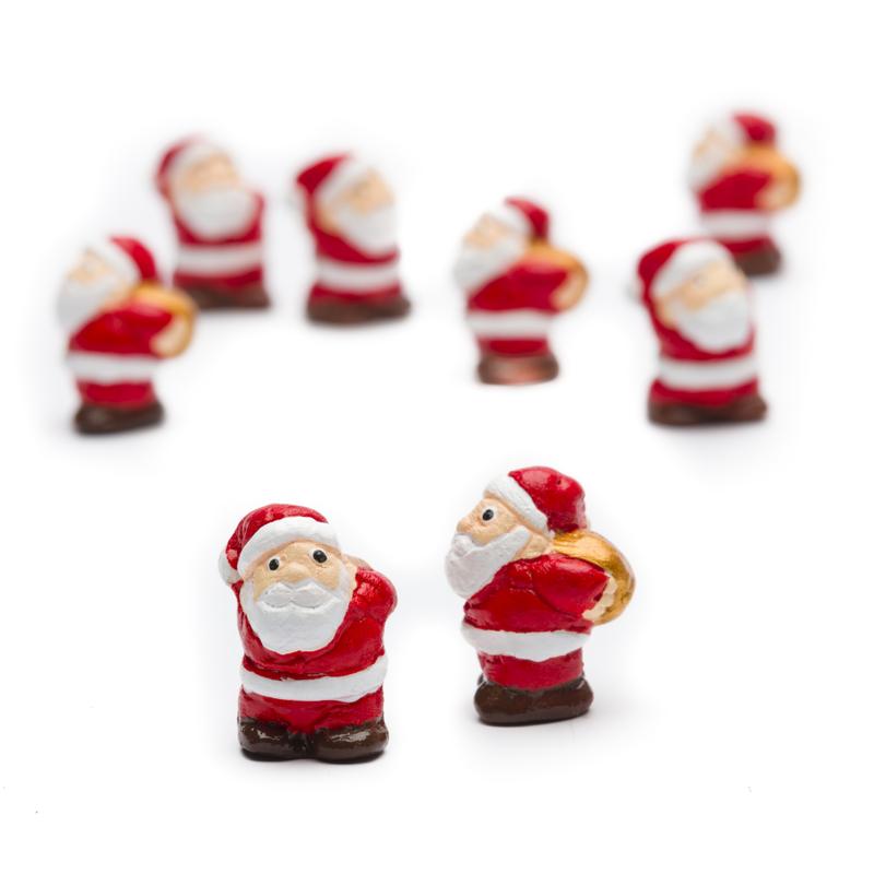 Mini kerstmannetje, aardewerk