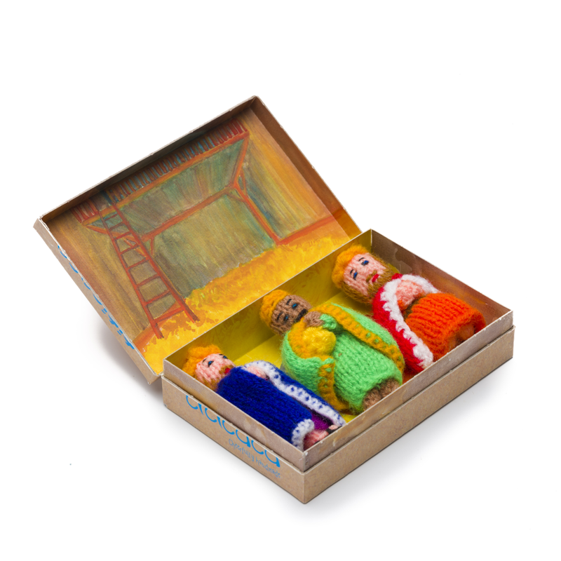 Stories - Three Kings, knitted