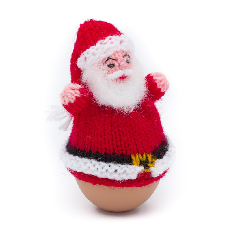 Egg-cosy Santa