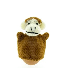 Egg-cosy monkey