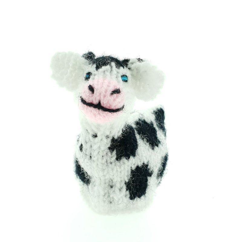 Egg-cosy cow