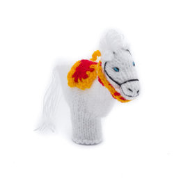 Vingerpop Paard van Sinterklaas