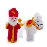 Finger puppet horse of St. Nicholas