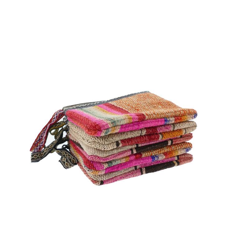 Case, recycled blankets, medium