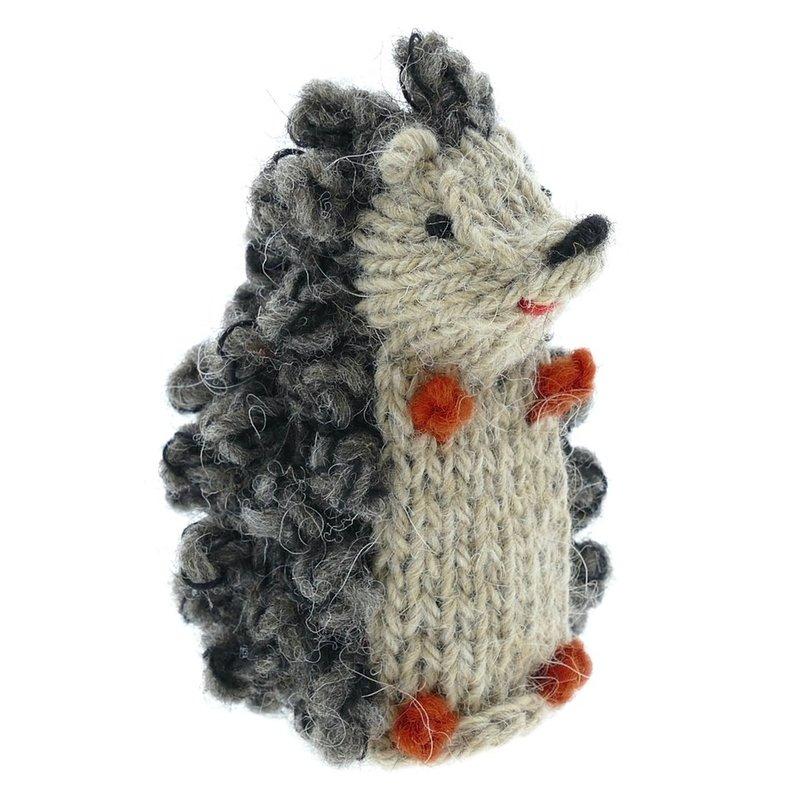 Finger puppet per model, 100% sheep's wool