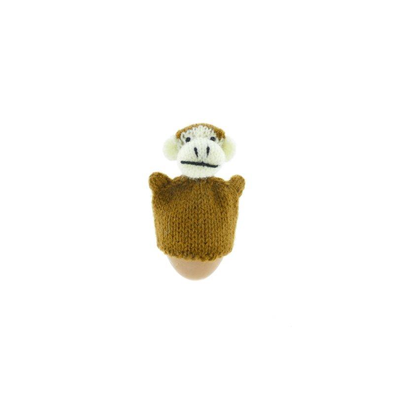 Egg-cosy monkey