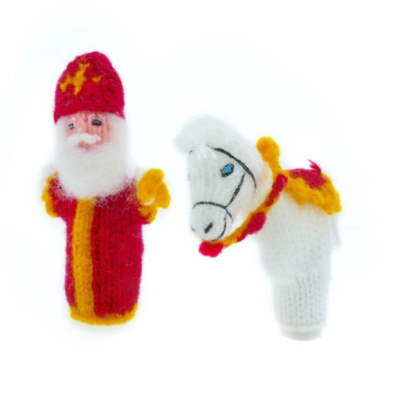 Finger puppet St. Nicholas