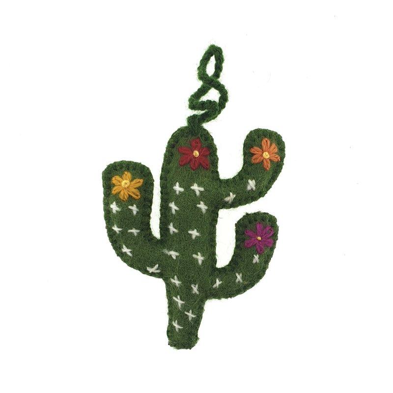 Deco-Cactus, 100% schapenwol