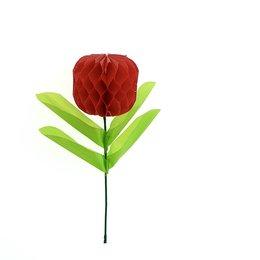 Decorative flower bulb, mini - red