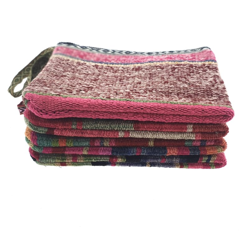 Case, recycled blankets, large
