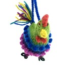 Hand knitted rooster, 100% sheep's wool