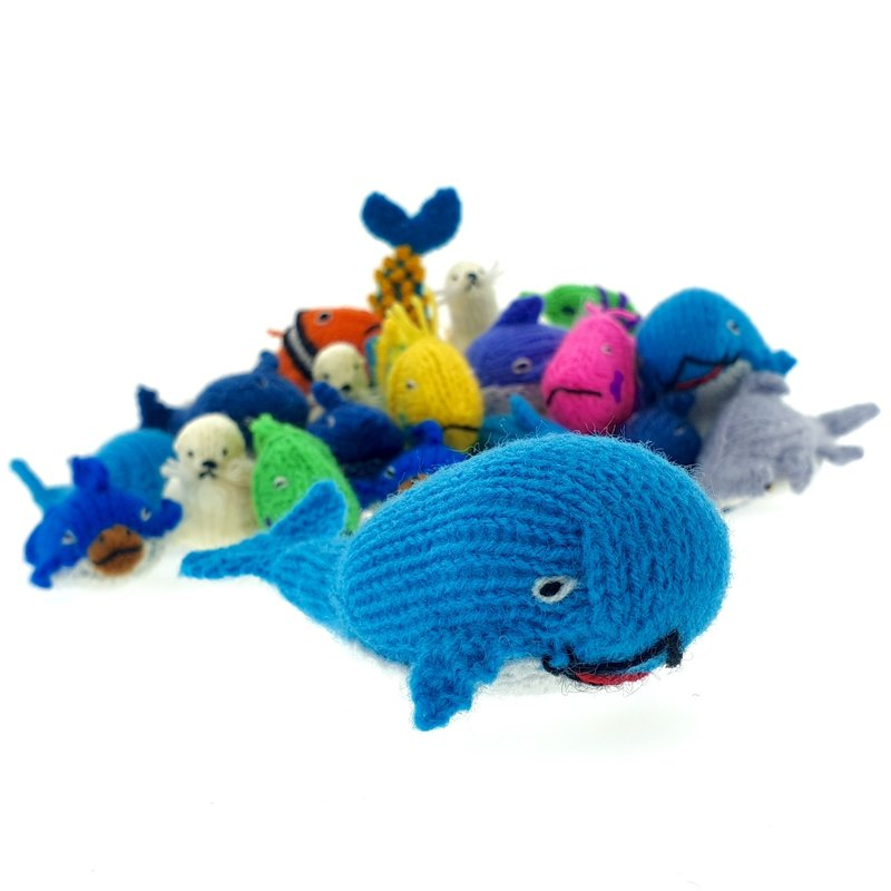 Finger puppets, ocean animals only