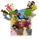 Finger puppets, farm animals only