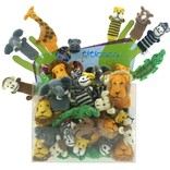 Finger puppets, safari animals only