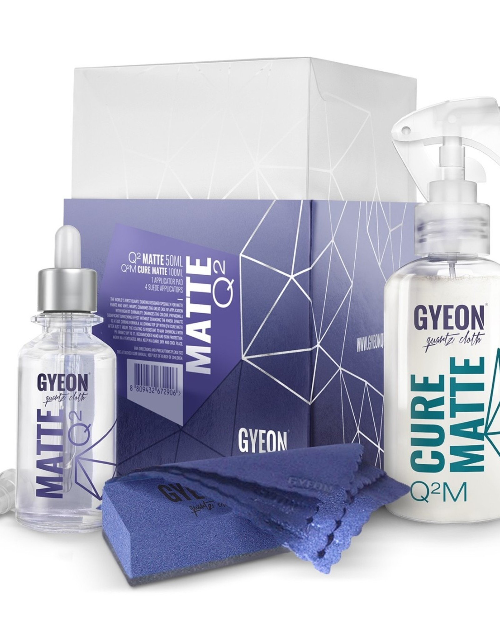 Gyeon Gyeon Q2 Matte + Q2M Cure Matte 50ml + 100ml