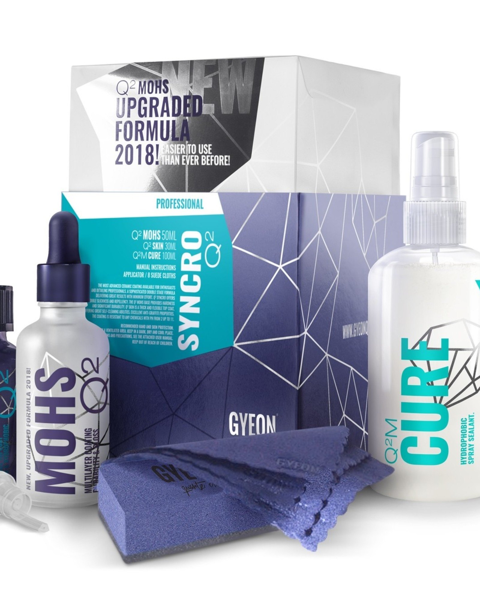 Gyeon Q² Syncro Mohs + Skin + Cure 50ml +30ml 100ml