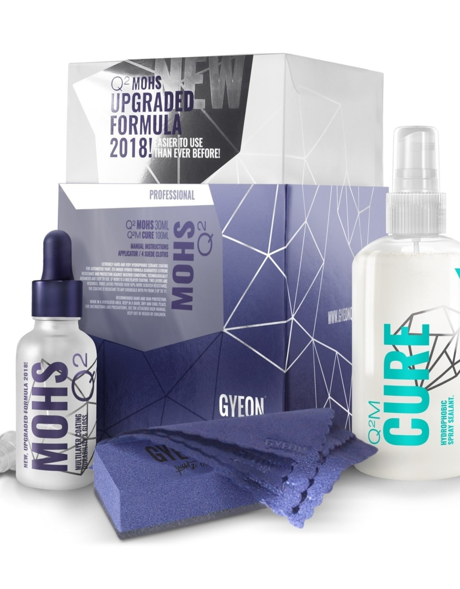 Gyeon Q2 Mohs 100ml + Cure 100ml