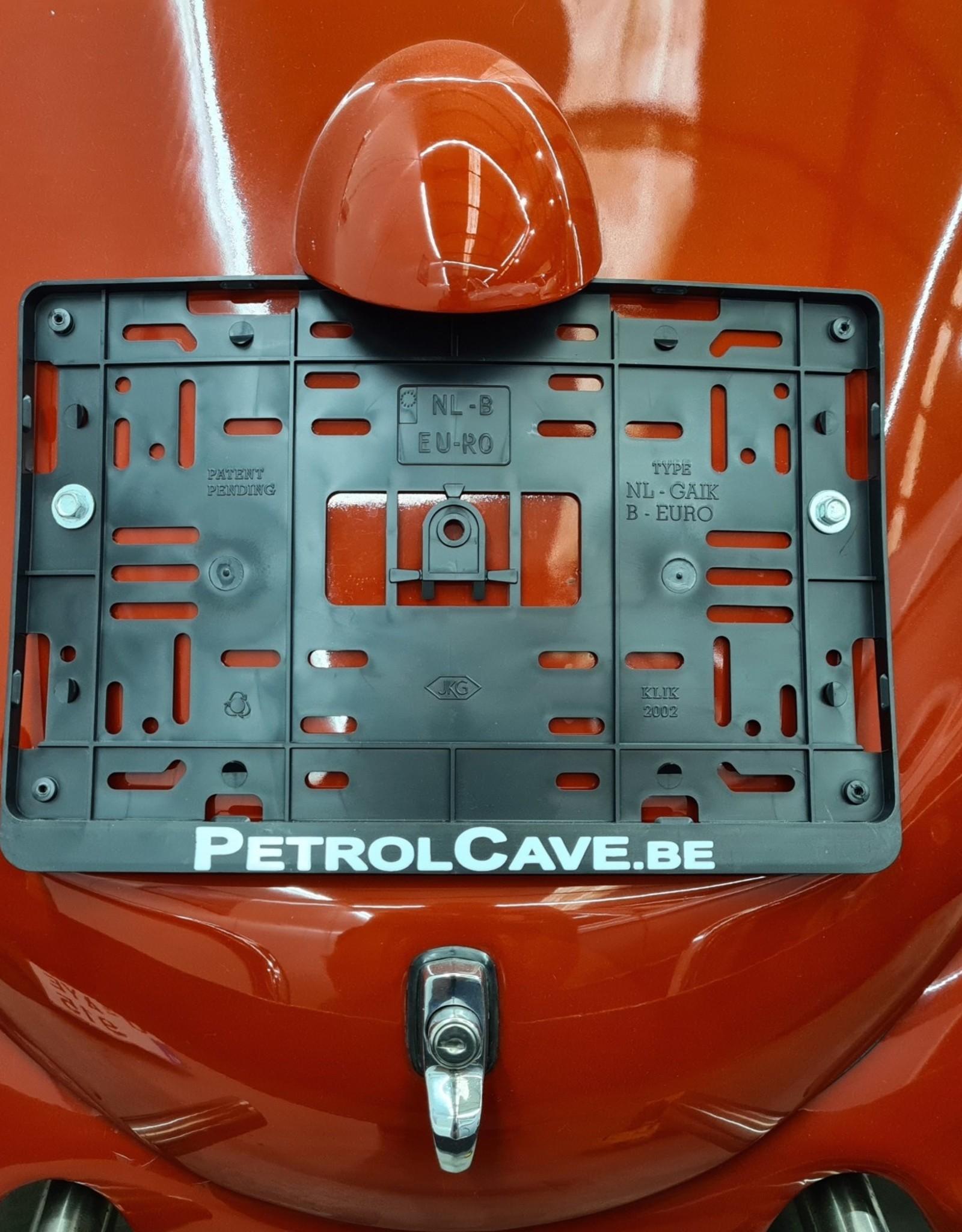 Petrol Cave Petrol Cave nummerplaathouder vierkant (34x21cm)