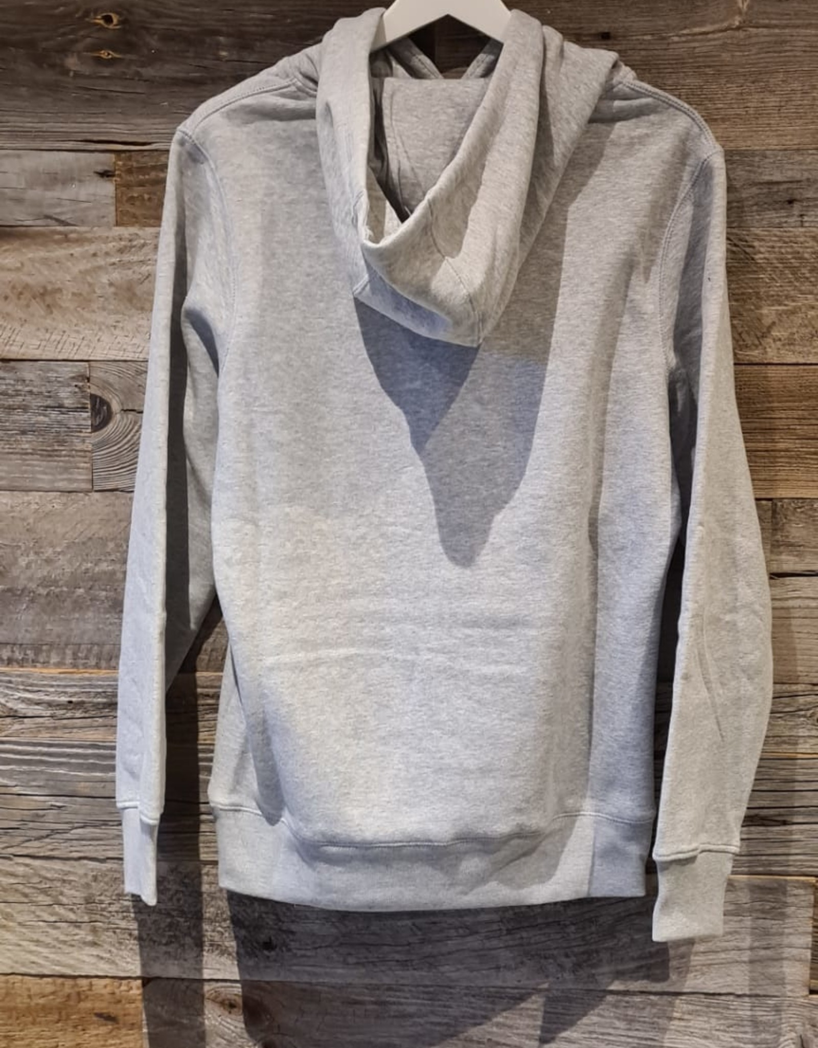 Petrol Cave Petrol Cave Sweater met kap Grijs