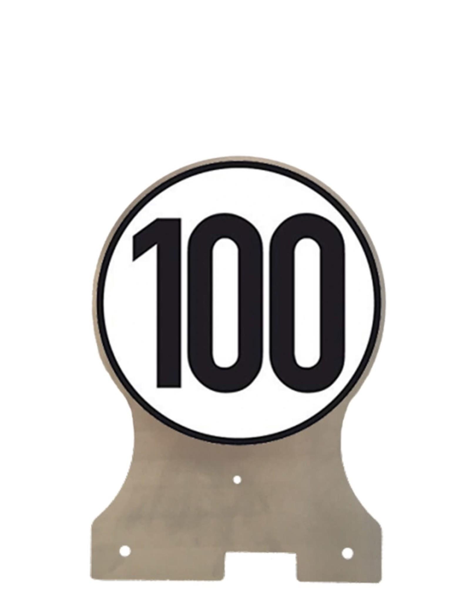 Treiler Treiler 100 km/u console inclusief sticker