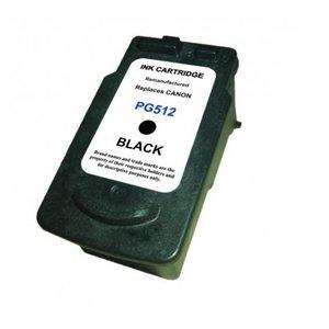 SecondLife Inkjets Canon 510 / 512 Black 18