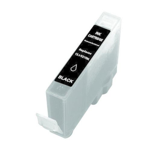 SecondLife Inkjets Canon CLI 521 Black 10.5
