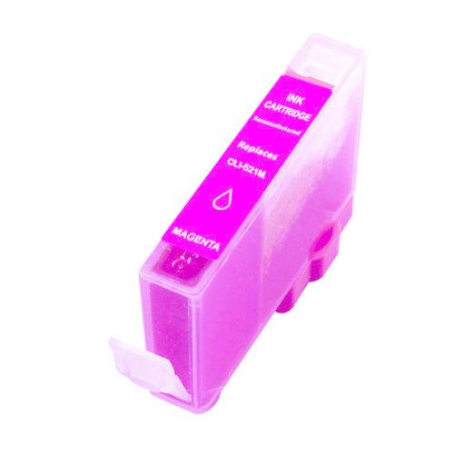 SecondLife Inkjets Canon CLI 521 Magenta 10.5